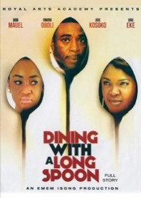 DINING WITH A LONG SPOON